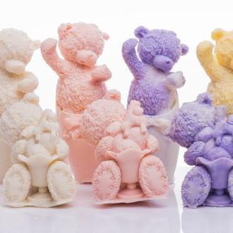 Тедди с мороженым. Мыло