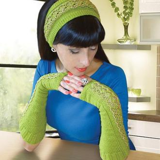 Митенки, перчатки без пальцев и повязка на голову - новый имидж