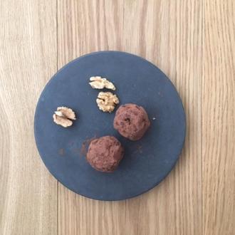 Бетонная доска для сервировки еды