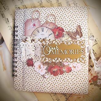"""Альбом для фото """"Наши воспоминания"""""""