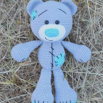 Мишка Тедди  (кукла вязаная крючком)