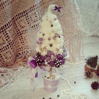 """Новогодняя елка """"Пурпурное сияние"""""""