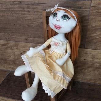 Кукла рыжуля. Солнечный подарок