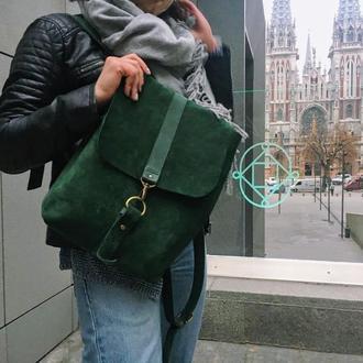 Рюкзак кэжуал 095 ручной работы, эксклюзив, выполнен под заказ