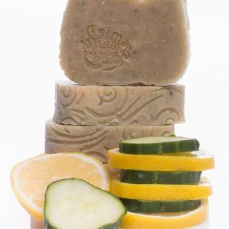 Огуречное мыло для лица. Огіркове мило для лиця