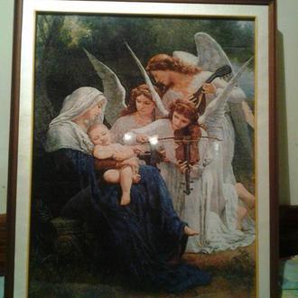 """Картина """"Песнь ангелов"""" вышивка крестом"""