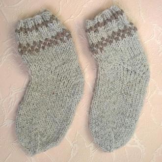 Носки детские, вязаные, шерсть 100%