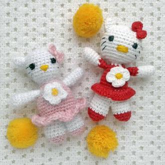 Кошечки Хелло Китти амигуруми