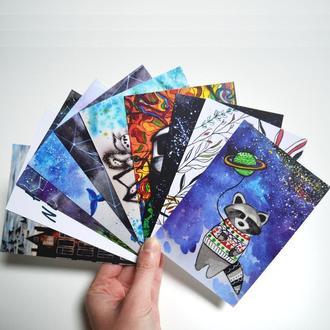 Набор из 10  подарочных открыток