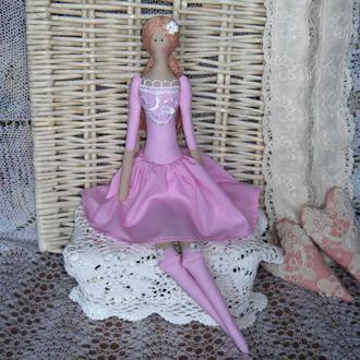 Кукла в стиле Тильда  Розалинда плюс БЕСПЛАТНЫЙ ПОДАРОК