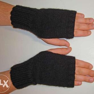 Митенки - перчатки мужские универсальные стильные