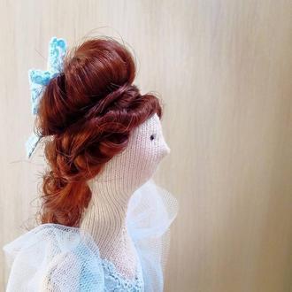 Текстильная кукла Искорка