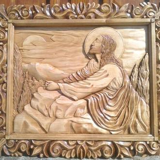 """Икона """"Иисус на Масличной горе"""""""