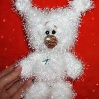 мишка-снежинка