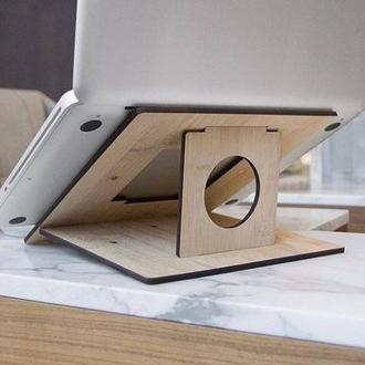 Подставка трансформер для ноутбука покрытие масло ОСМО