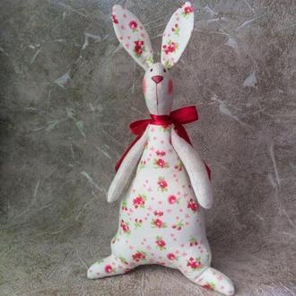 Кролик/зайчик Тильда, интерьерная игрушка