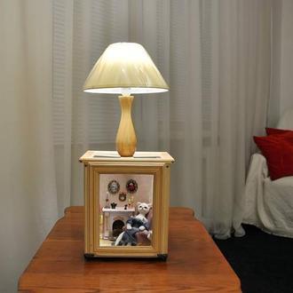 Светильник (настольная лампа) Румбокс.