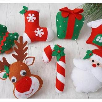 Новогодние игрушки, игрушки на елку