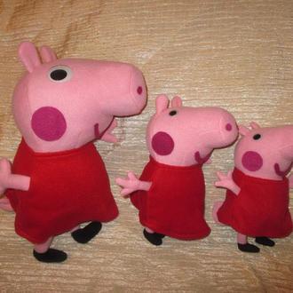 Свинка Пеппа большая 40 см