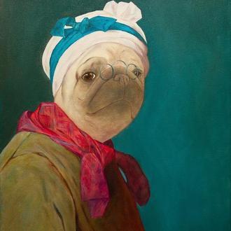 Мопсден — Автопортрет