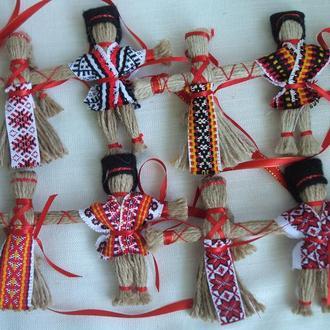 """""""Неразлучники"""" Подарок-оберег  Handmade. Кукла-мотанка."""