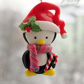 Игрушка-подвеска Пингвиненок