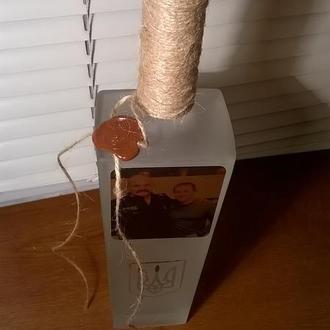 бутылка ручной работы