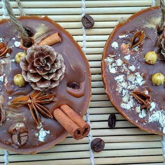 Шоколадне,воскове саше для ароматизації Вашої оселі!