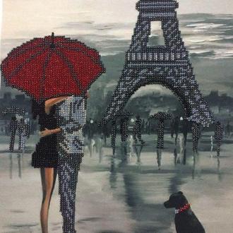 """Картина з бісеру """"Париж"""", А3"""