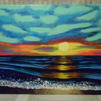 """Картина """"Волны"""""""
