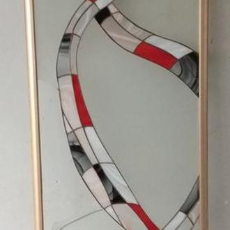 Раздвижная система в технике Тиффани.