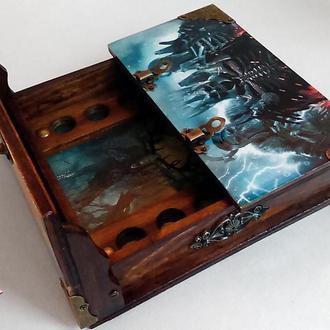 Доска для костей по игре Ведьмак