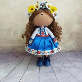 Інтер'єрна лялька Українка
