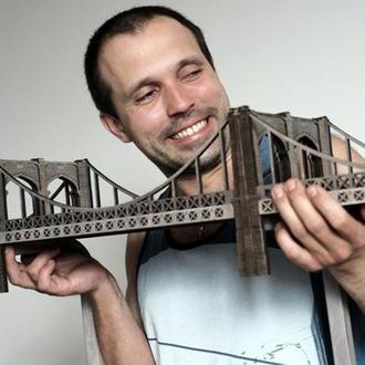 Полка Бруклинский Мост / Brooklyn Bridge Shelf