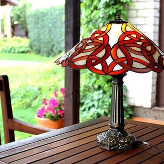 Кельтская лампа тиффани