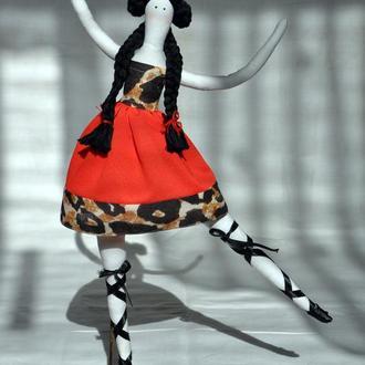 Тильда Балерина на подставке