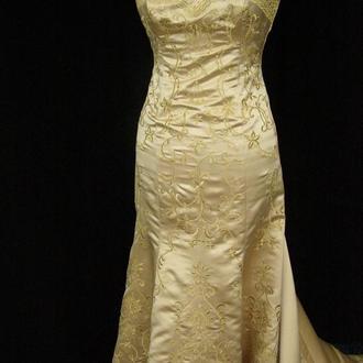 """Вечернее (свадебное) платье """"Золотая рыбка"""""""
