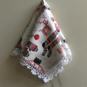Новогодний платочек