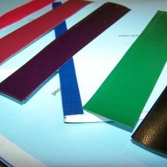Полоски цветной ламинированной бумаги, 100 шт.