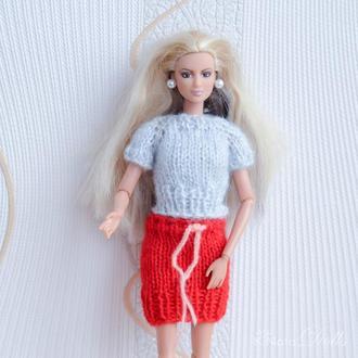 Кофты и юбки для Барби