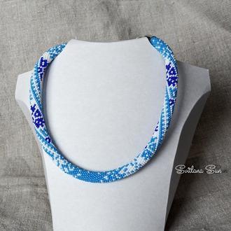 Жгут ′Синьо-блакитна вишиванка′