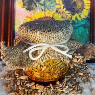 Мед з насінням соняшника