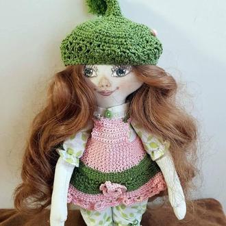 """Игровая текстильная кукла,""""Цветочная фея"""""""