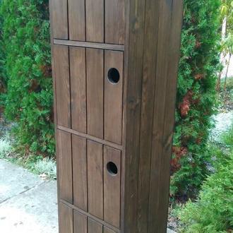 шкаф пенал из дерева