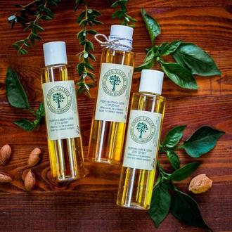 """Гідрофільна олія для тіла та душу """"Мигдаль та оливка"""" (для сухої та чутливої шкіри)"""