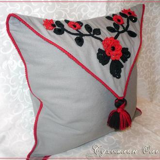 Подушка декоративная, интерьерная.Подарок