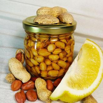 Мед з арахісом