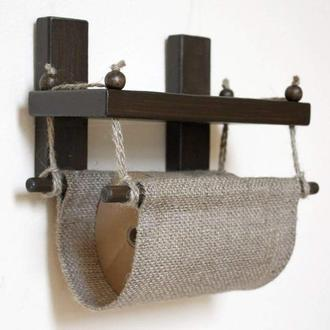 Полка-держатель туалетной бумаги