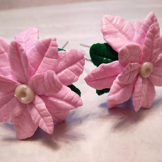 """Шпильки для волос """"Розовые мечты"""""""