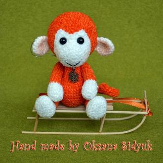 "В'язана іграшка ""Little Monkey Mandarin"""